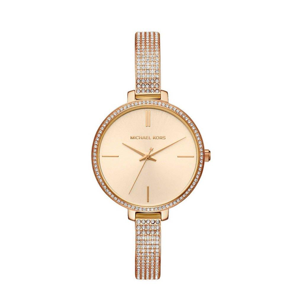 Michael Kors Jaryn horloge - MK3784, Goud