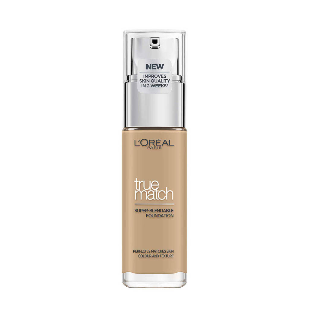 L'Oréal Paris True Match Foundation- 3.D/3.W Golden Beige, 3D/3W Golden Beige