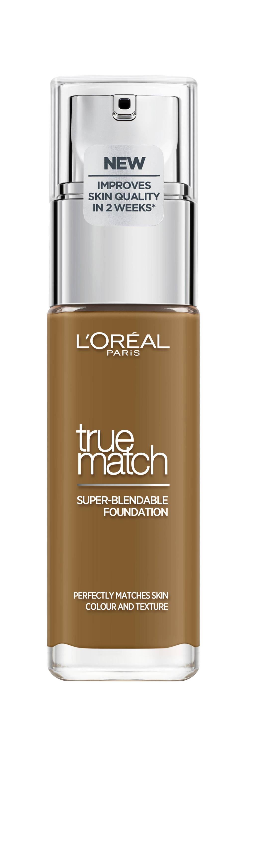 L'Oréal Paris True Match Foundation - 8.N Cappuccino, 8N Cappuccino