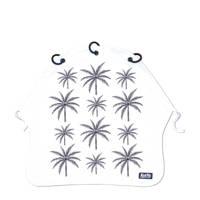 Kurtis beschermdoek Palm Trees grijs, Wit/grijs