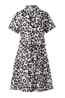Suzan Leopard jurk