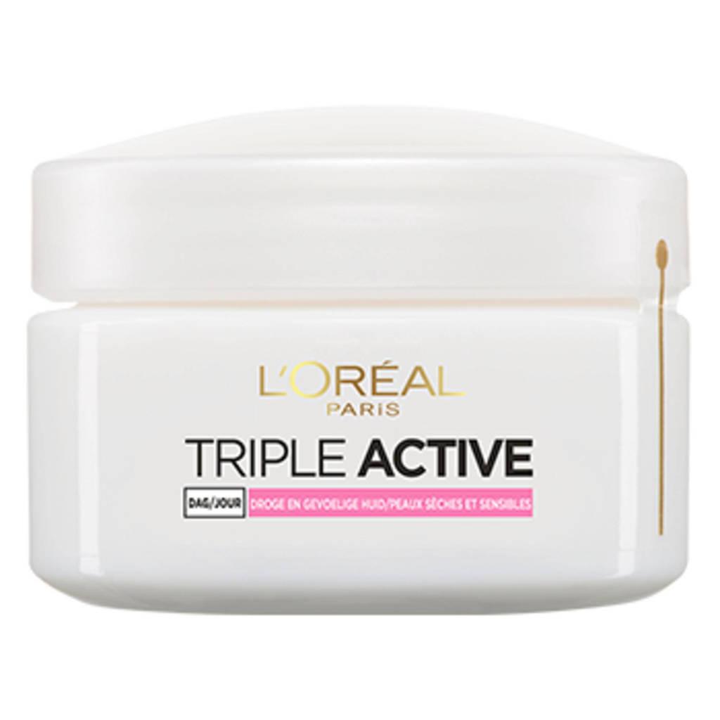 L'Oréal Paris Skin Expert Triple Active dagcrème - droge / gevoelige huid