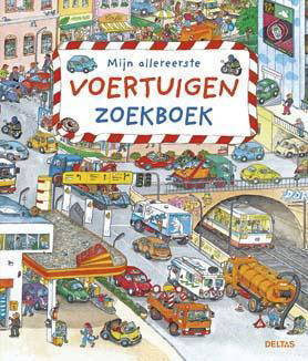 Mijn allereerste voertuigen zoekboek - Susanne Gernhäuser
