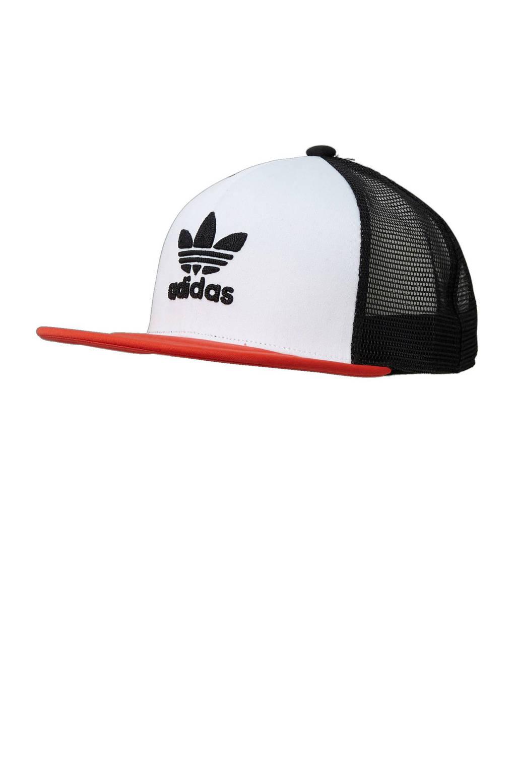 6fb595947e6 adidas originals pet, Wit/ zwart/ rood