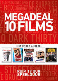 Megadeal 10 films (rood) (DVD)