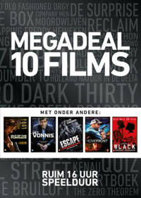 Megadeal 10 films (zwart) (DVD)