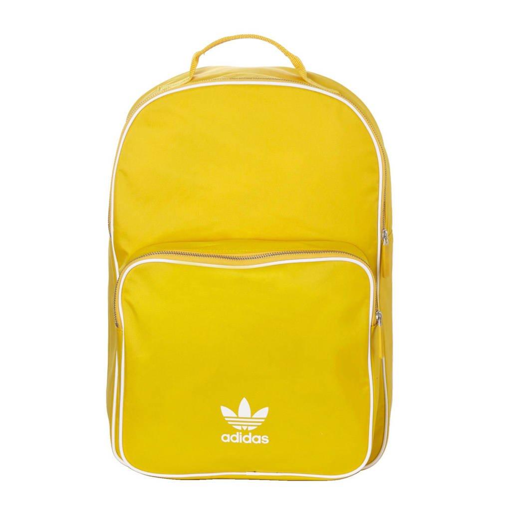 3c17b471f0a adidas originals rugzak geel, Geel/ wit