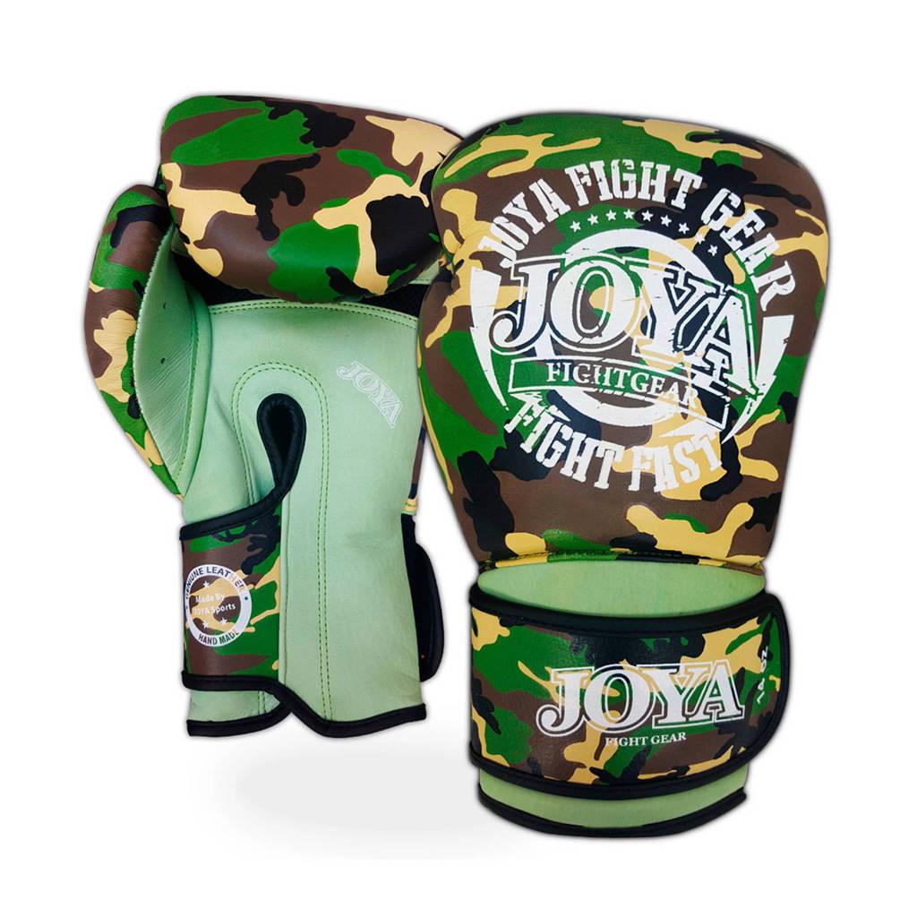 Joya bokshandschoenen Fight Fast Camo 14 Oz, Groen