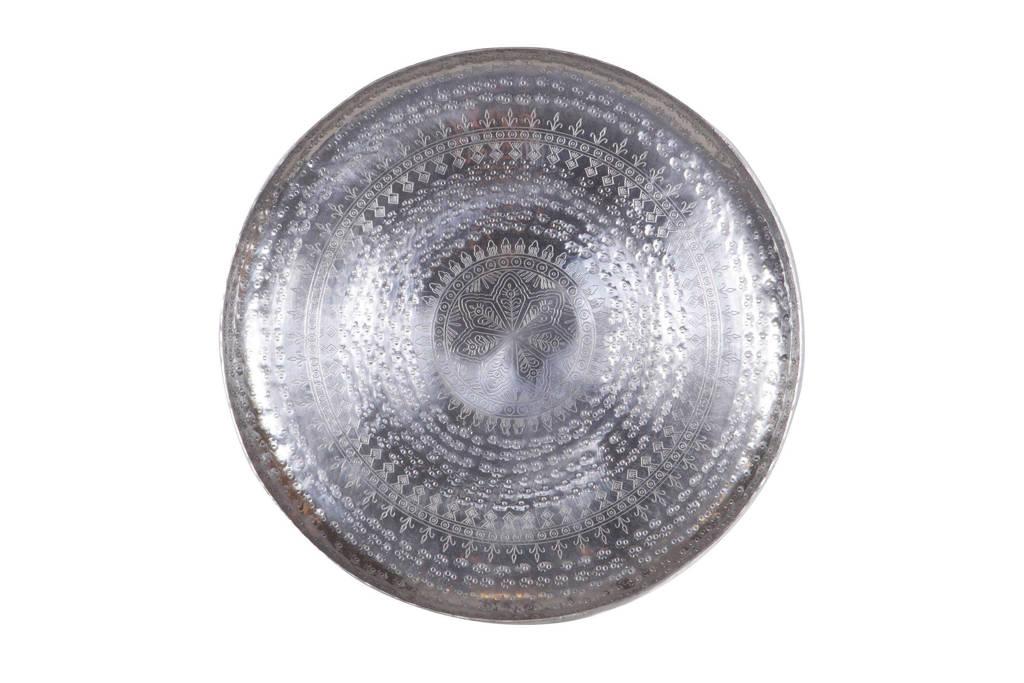 BePureHome decoratie schaal (Ø44 cm), Zilver