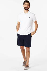 POLO Ralph Lauren custom fit polo, Wit