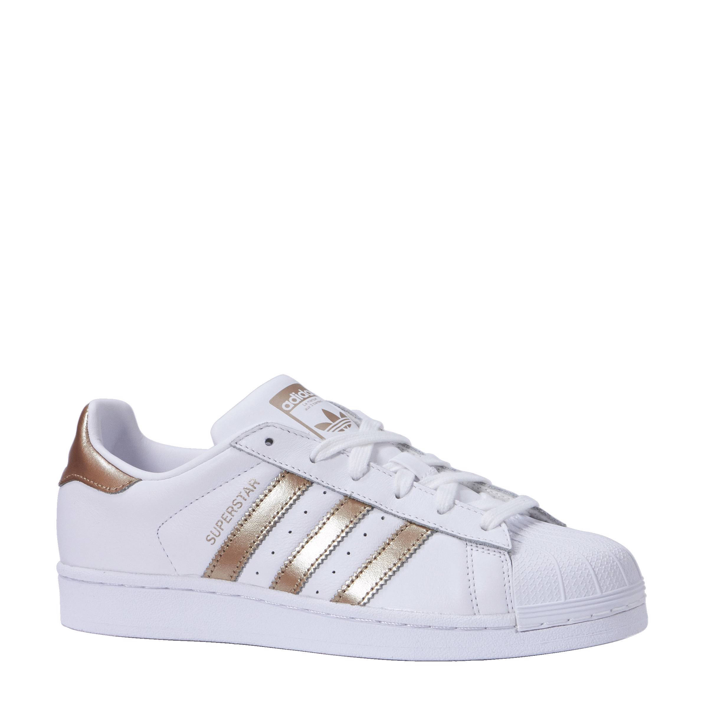 adidas superstar dames zwart wit goud