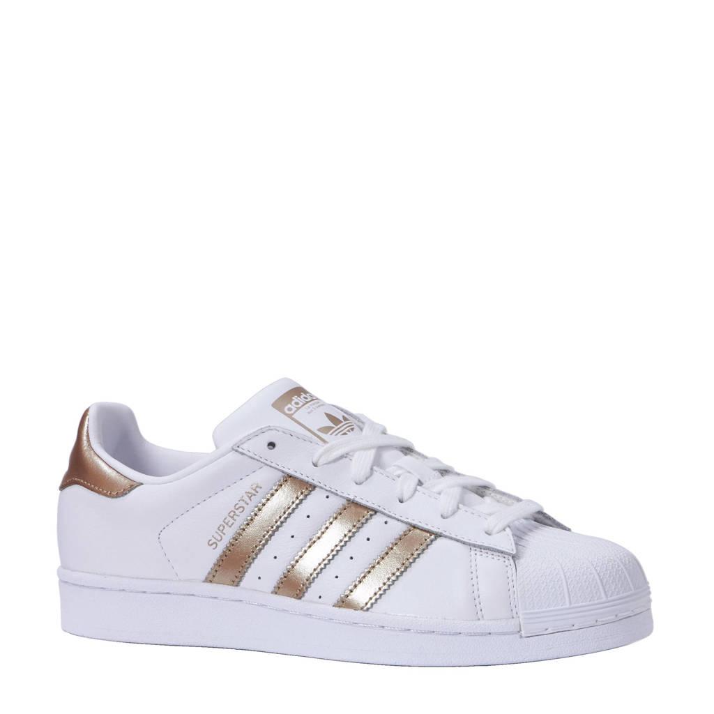 cheap for discount e09ec 7f3f3 adidas originals Superstar sneakers, Wit goud