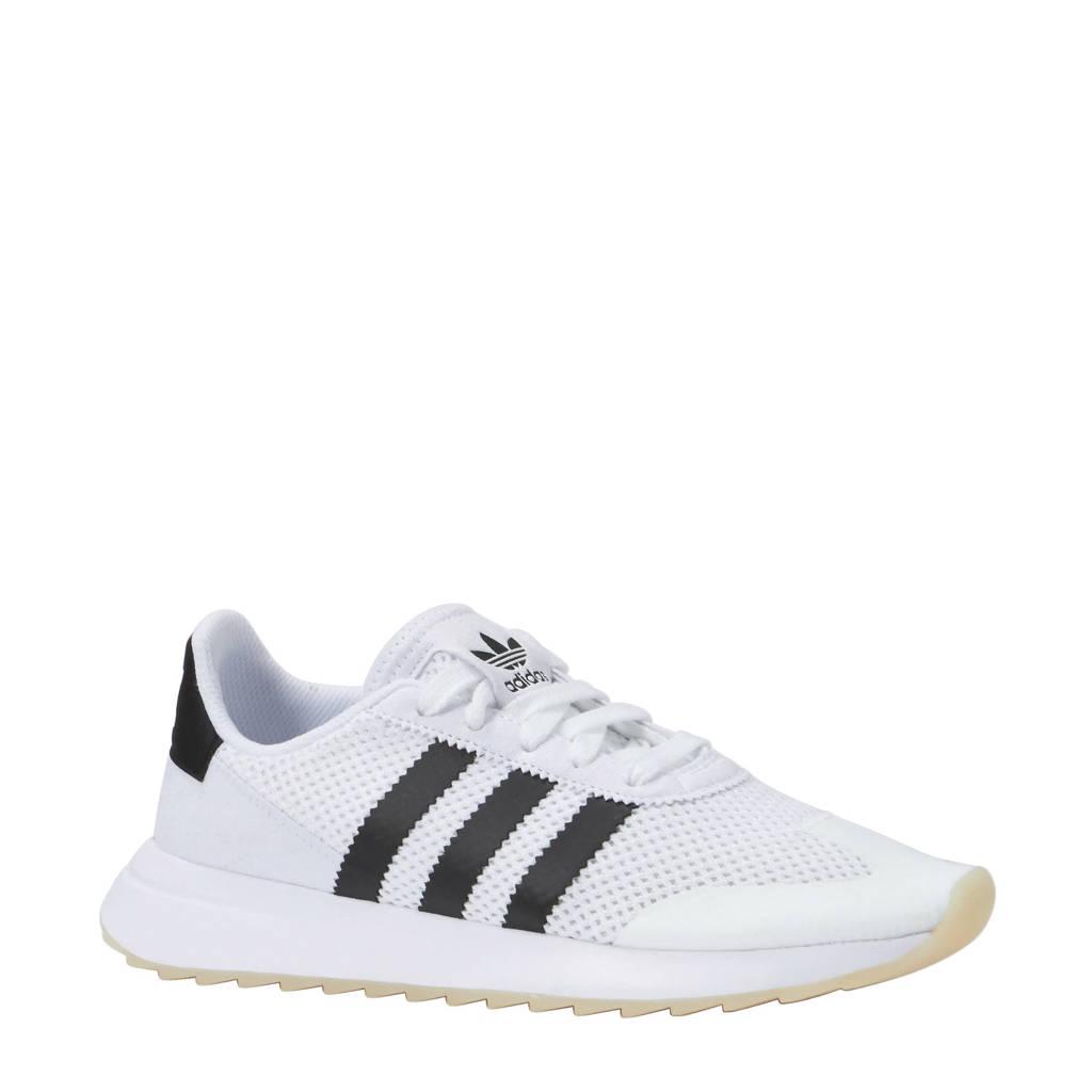 4116e3c9290 adidas originals Flashback W sneakers, Wit/zwart