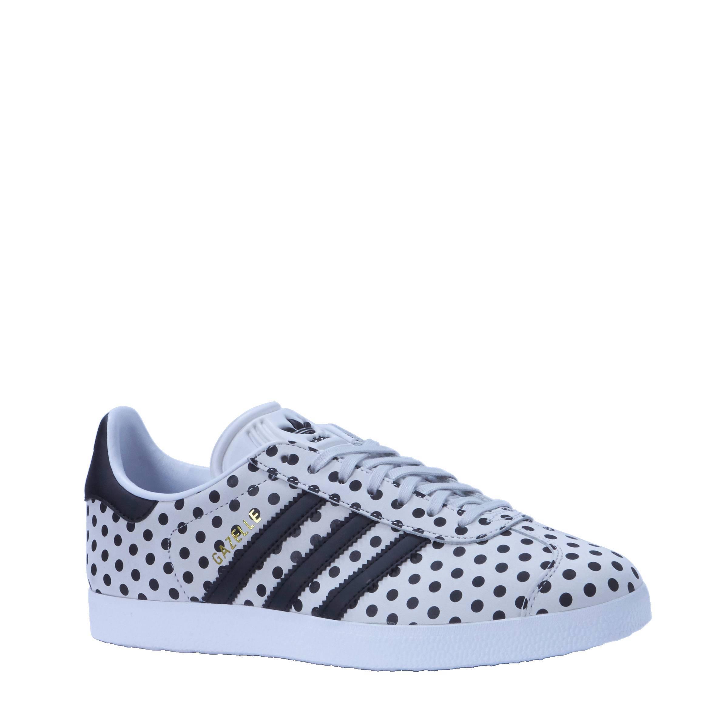 adidas gazelle wit zwart