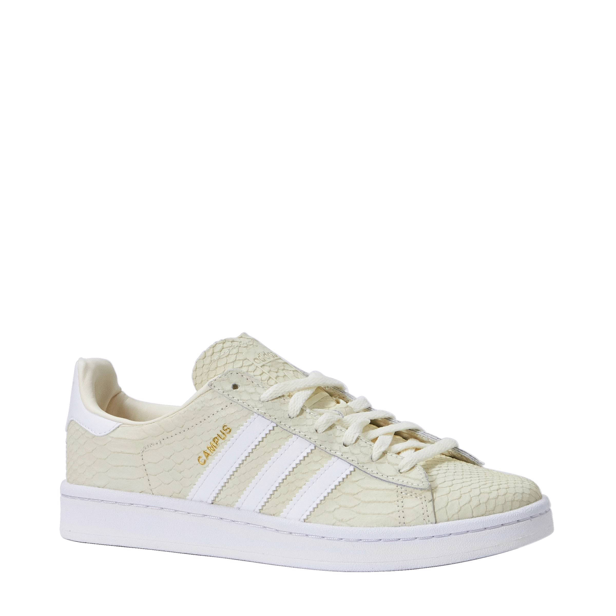 reputable site 2a5b9 bfba3 adidas originals Campus W nubuck sneakers  wehkamp