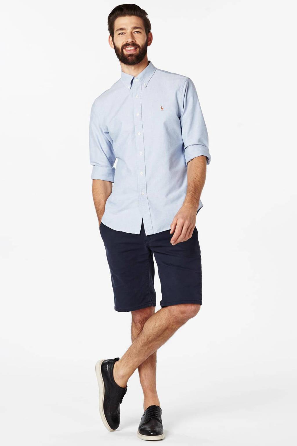 POLO Ralph Lauren slim fit overhemd, Lichtblauw