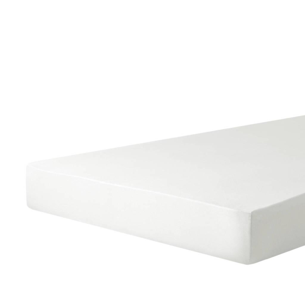 Wehkamp Home jersey hoeslaken Wit