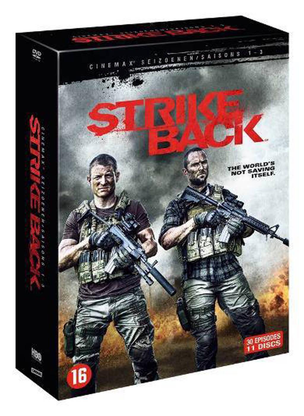 Strike Back - Seizoen 1 - 3 (DVD)