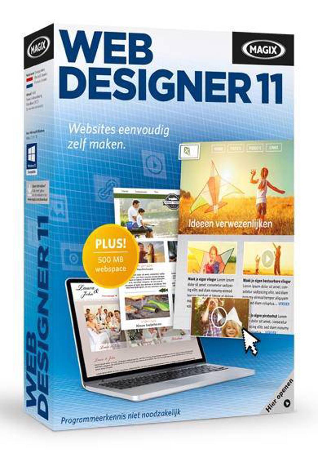 Magix web designer 11 (PC)