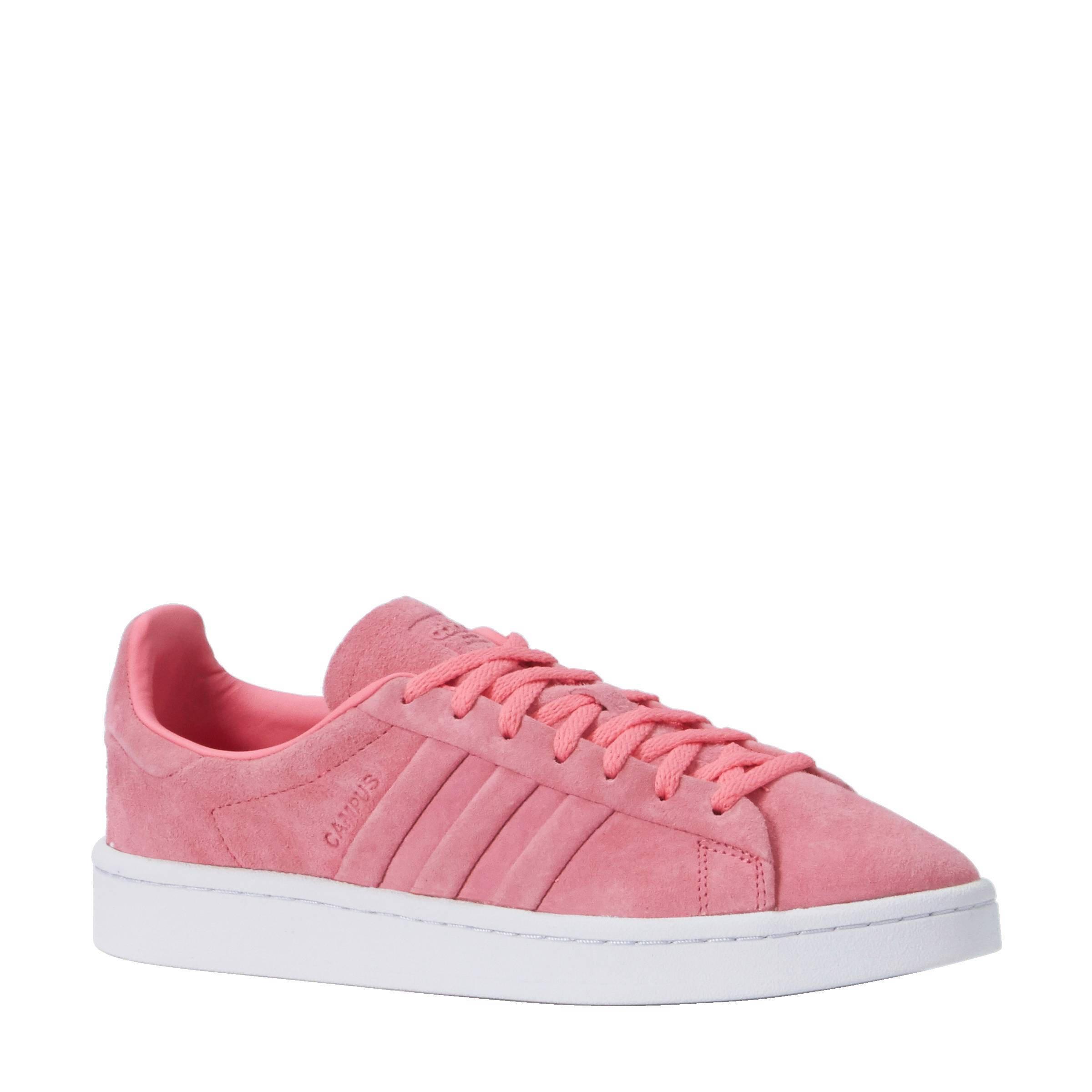 adidas campus dames roze