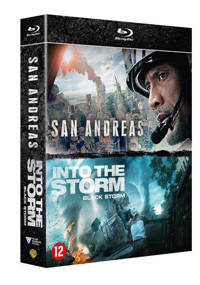 San andreas/Into the storm (Blu-ray)