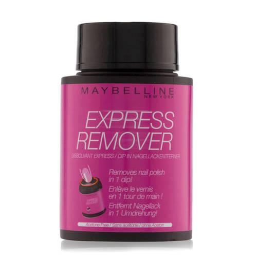 Maybelline Express nagellak remover