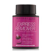 Maybelline New York Express nagellak remover