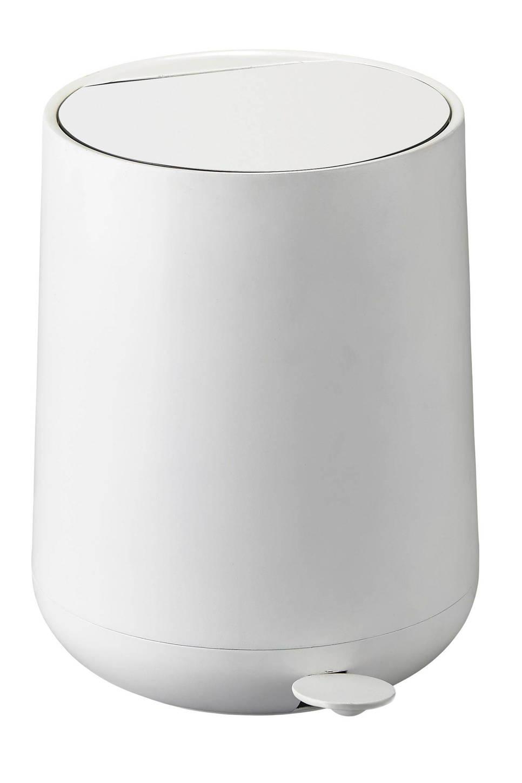 Zone Nova 5 liter pedaalemmer , Wit