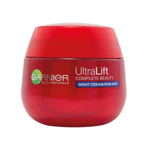Garnier Skin Naturals Ultra Lift Complete Beauty Nachtcreme Gevoelige Huid 50ml