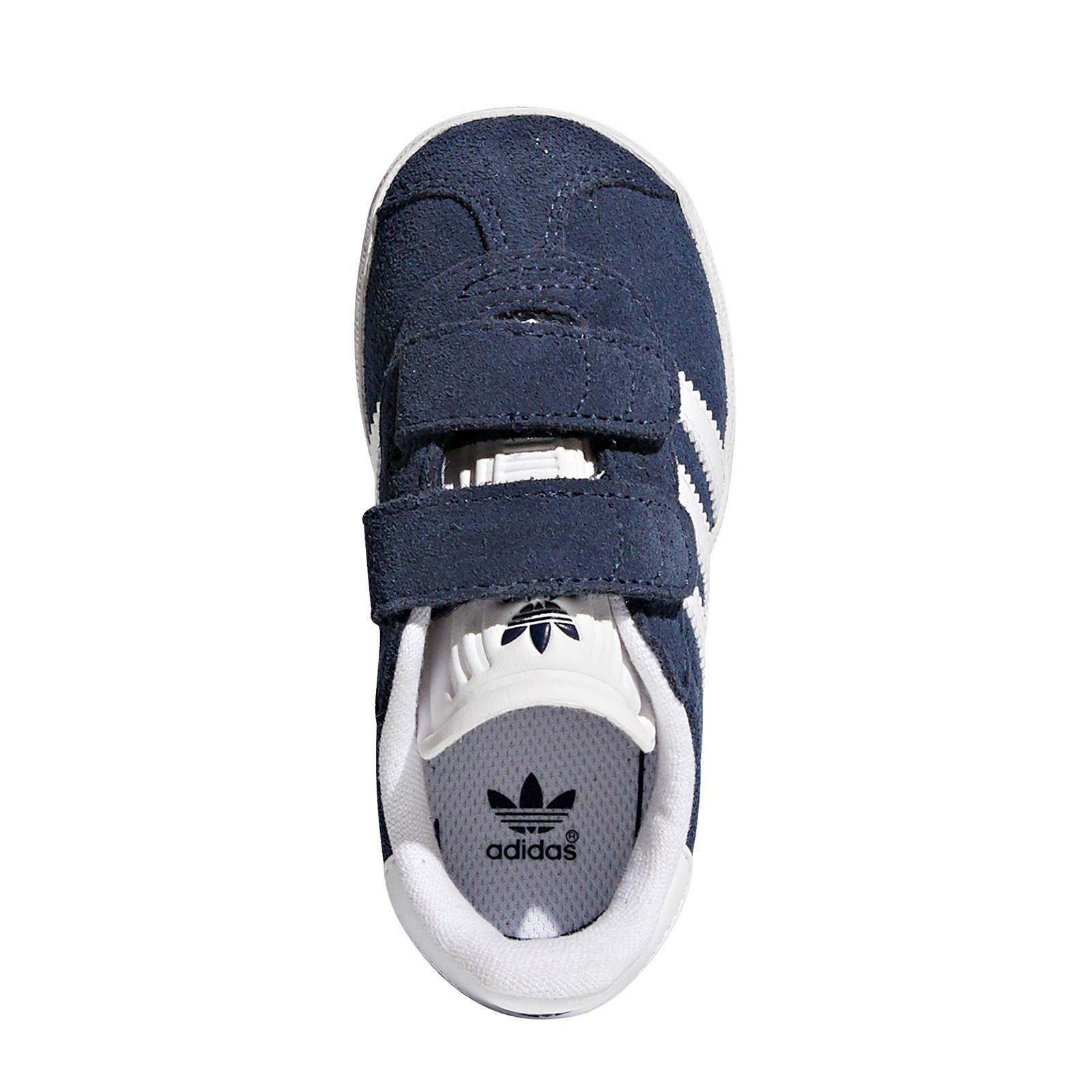 adidas gazelle donkerblauw