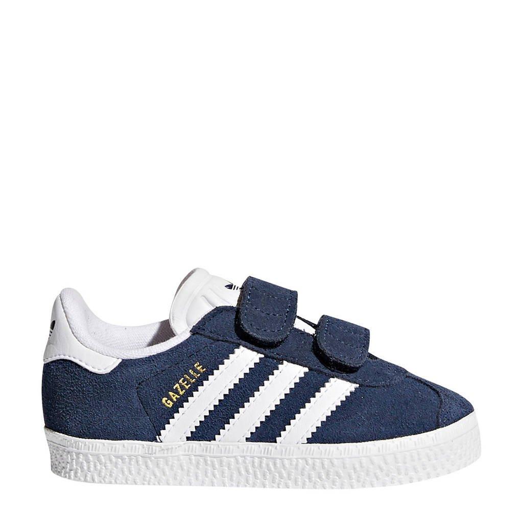 adidas Originals Gazelle CF I sneakers, Donkerblauw/wit