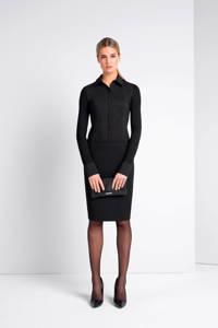 Expresso overhemdblouse Xani zwart, Zwart