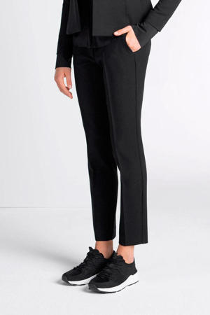 pantalon Xaan regular fit zwart