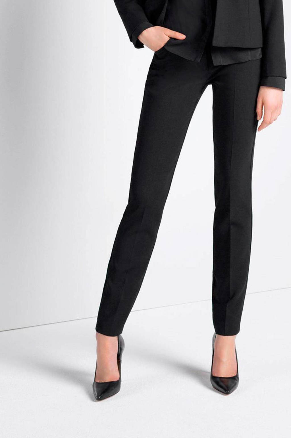 Expresso pantalon Xeno regular fit zwart, Zwart