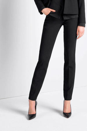 pantalon Xeno regular fit zwart