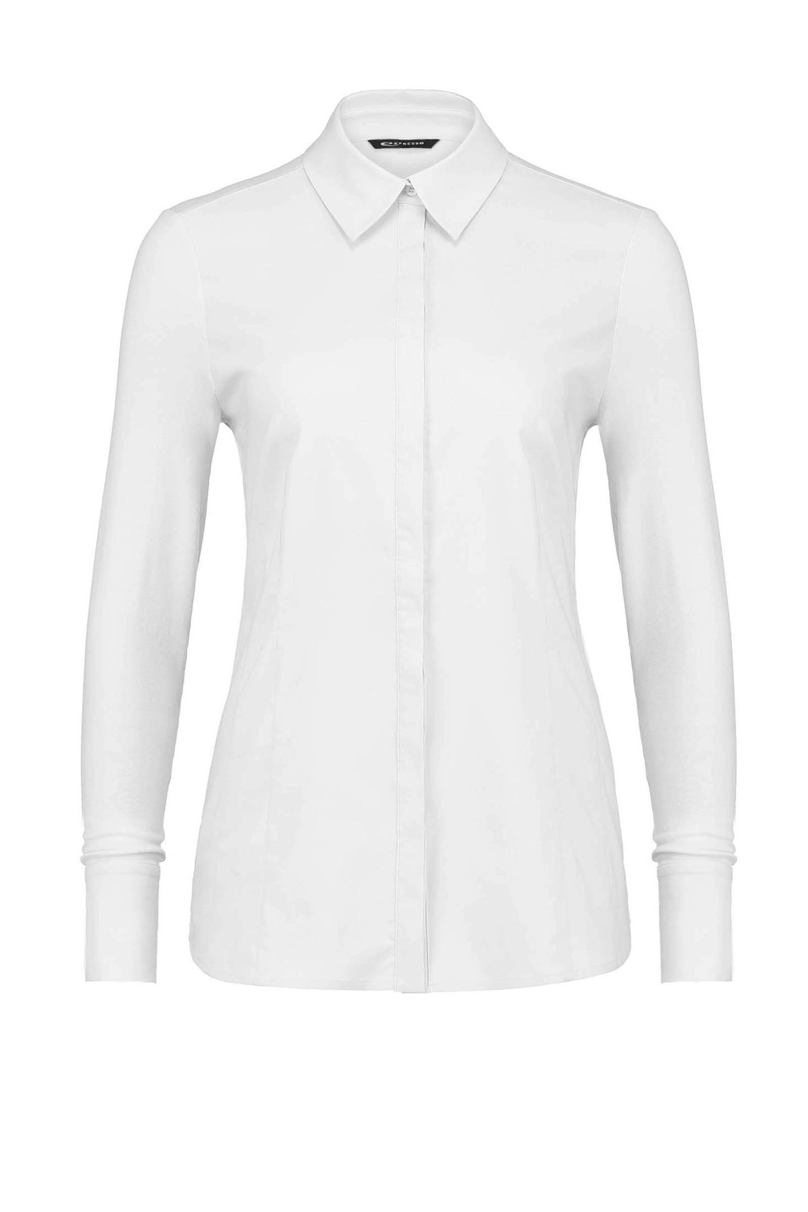 witte blouse met hartjes