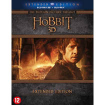 Hobbit trilogy (3D) extended edition (Blu-ray)