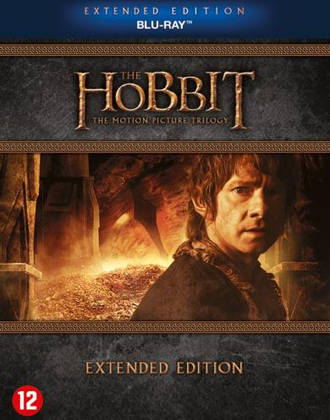 Hobbit trilogy extended edition (Blu-ray)