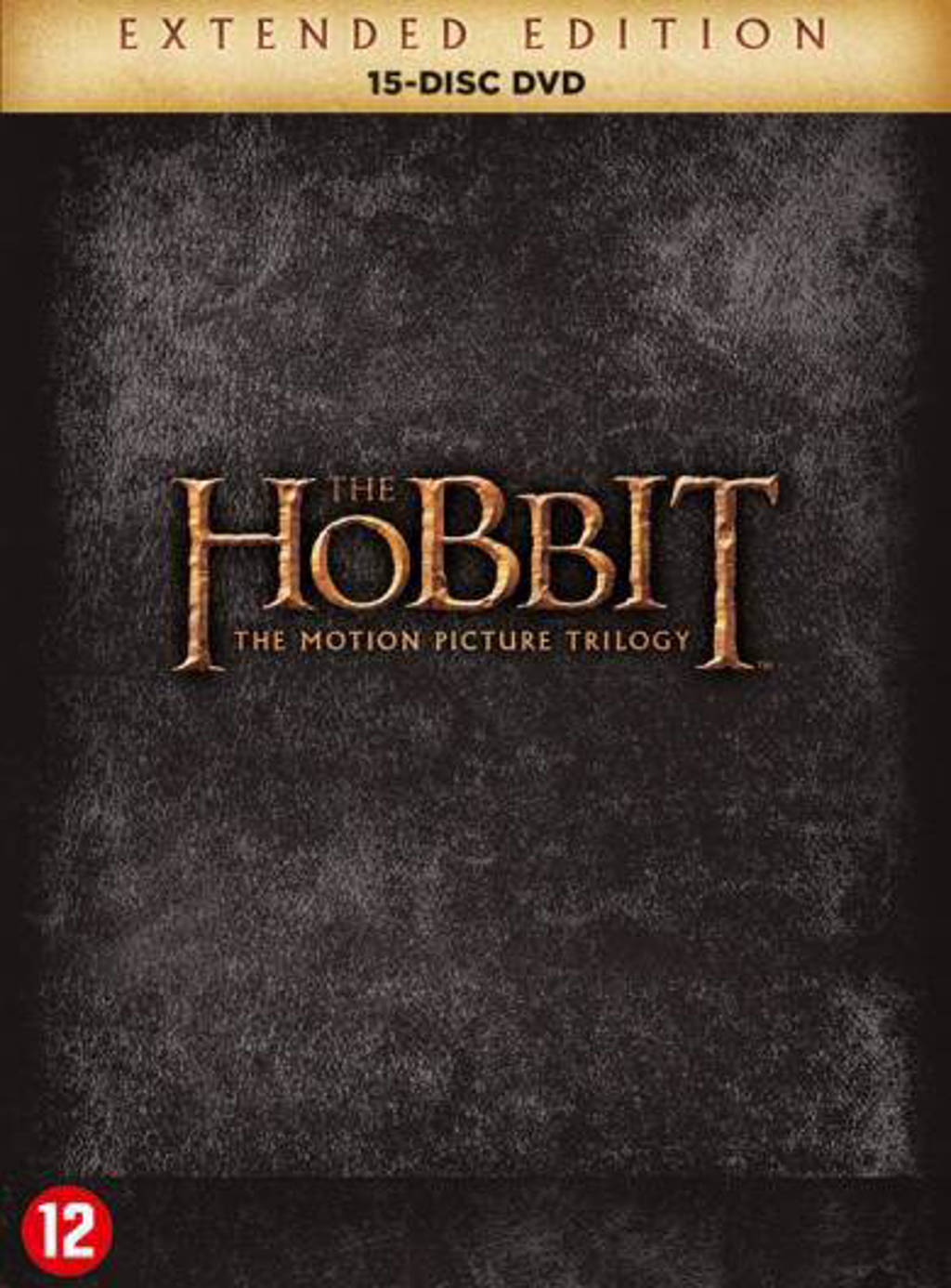 Hobbit trilogy extended edition (DVD)