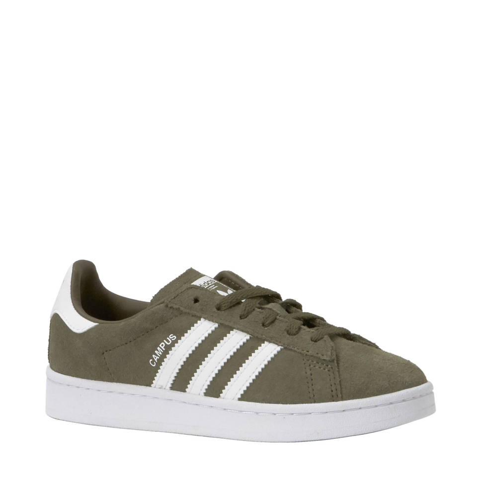 a06053dd765 adidas originals Campus C suède sneakers kids, Legergroen