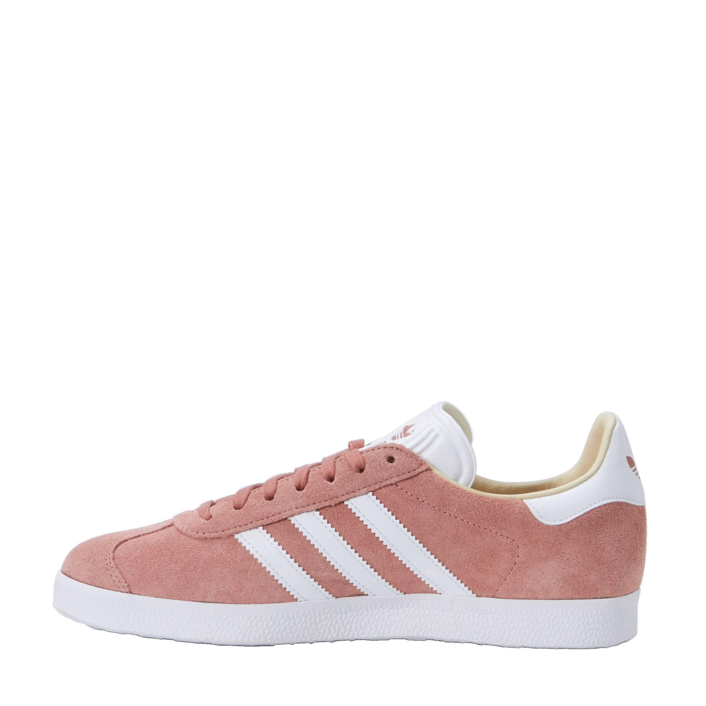 adidas gazelle oud roze