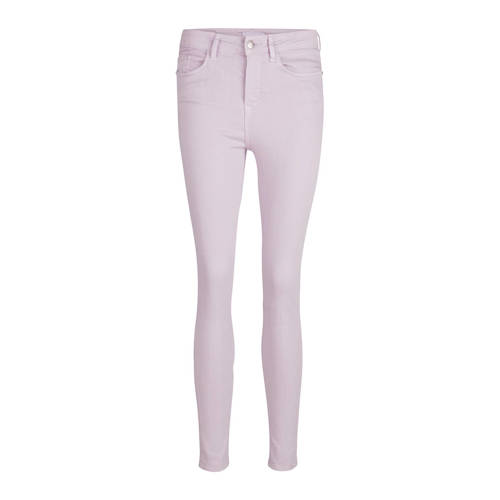 Milou cropped high waisted skinny fit broek