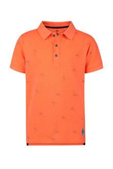 polo met flamingo oranje