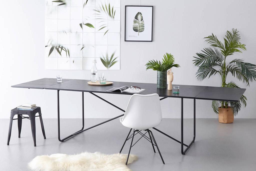 whkmp's own verlengbare eettafel Bento 200-300 cm, Zwart