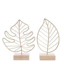 ornament blad (set van 2)
