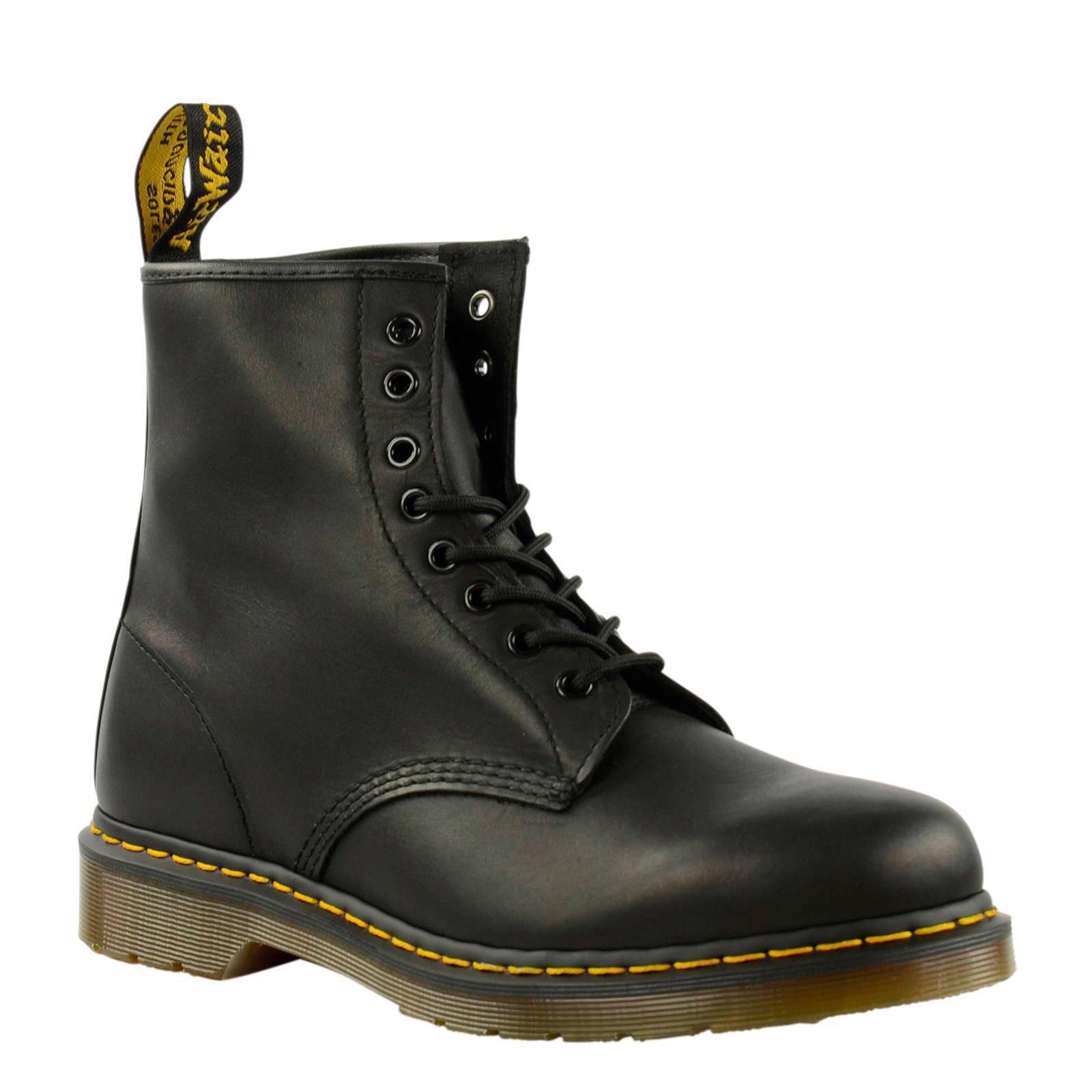 Dr. Martens 1460 8 eye boot leren veterboots | wehkamp