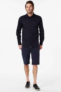 Tommy Hilfiger slim fit overhemd, Donkerblauw