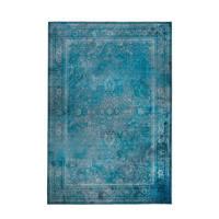 Dutchbone vloerkleed Rugged  (300x200 cm), Blauw