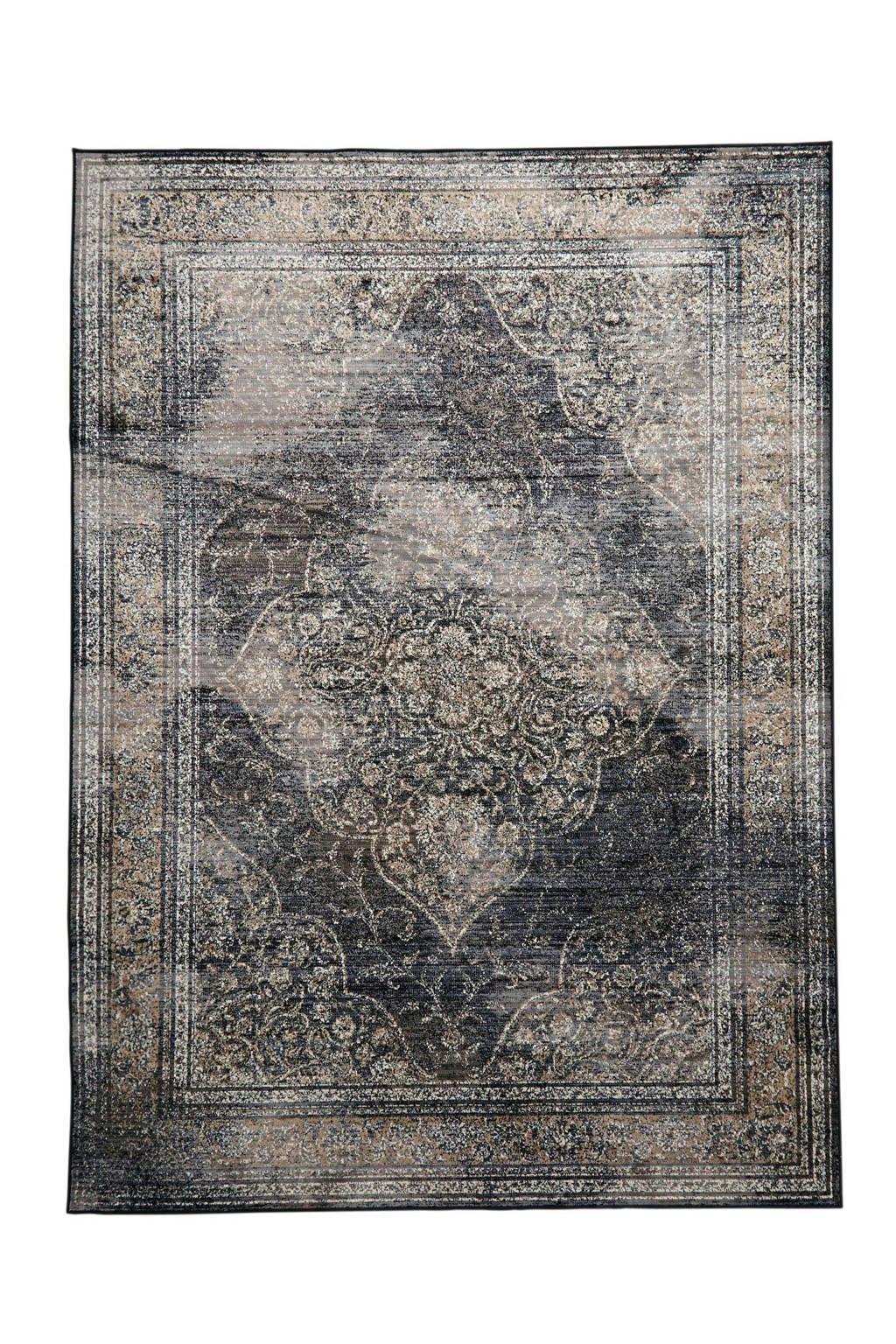 Dutchbone vloerkleed Rugged  (240x170 cm), Grijs