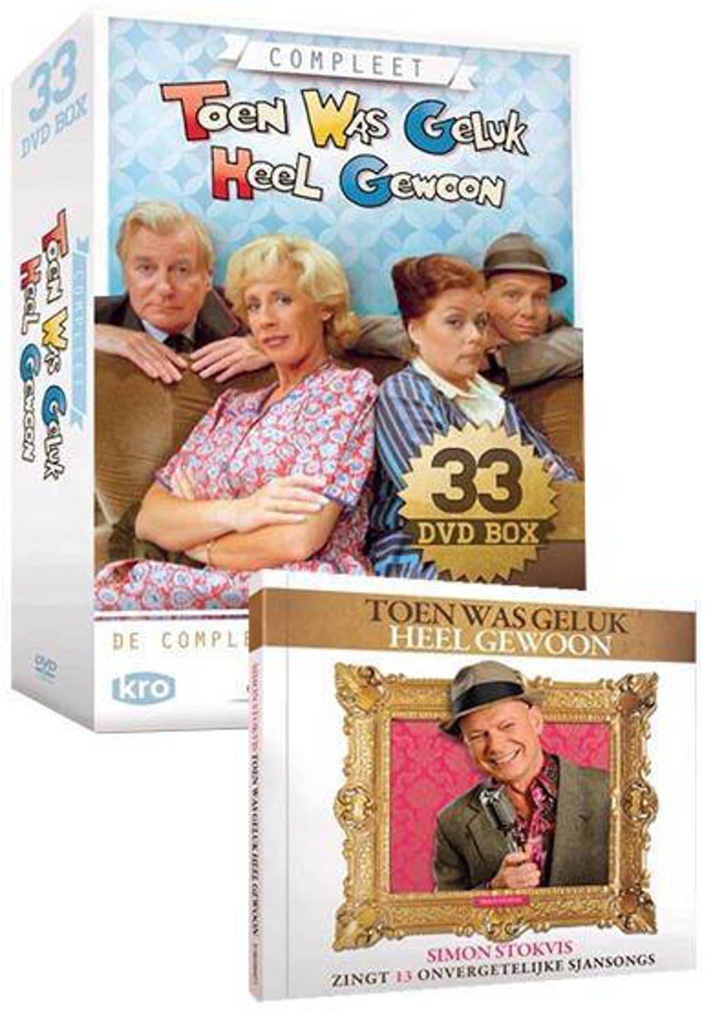 Toen was geluk heel gewoon - Complete serie + CD (DVD)